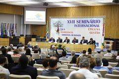 XVII Seminrio Internacional tica na Gesto (Banco Central do Brasil (BCB)) Tags: bancocentral brasil seminariointernacional etica gesto tst antheromeirelles isaacsidney direc difis premioboaspraticas
