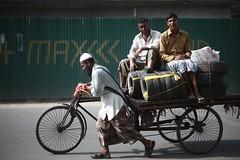 Fair Enough ! (N A Y E E M) Tags: rickshawvan wheels tyre today friday afternoon laalkhanbazaar cdaavenue chittagong bangladesh