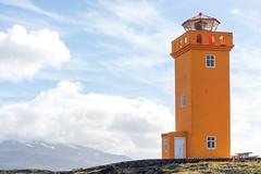 Sklasnaga lighthouse (Photocedric) Tags: iceland peninsula islande lighthouse snfellsnes mountain snfellsnes is