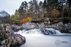 River Tummel (MacLeanPhotographic) Tags: fujifilm xt2 fujinonxf1024mmf4rois river longexposure lee09ndgrad lee10xndbigstopper leefilters autumn colours waterfall trees scotland highlands pitlochry tummel