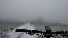 auf den Wintertrails (twinni) Tags: mw1504 04122016 bike biketour mtb heuberg salzburg austria sterreich winter schnee winterbike bergziege winterradl 20 hardtail garmin oregon 700