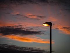 Sunset Lamp (jason-l) Tags: sunset streetlight lamp sky
