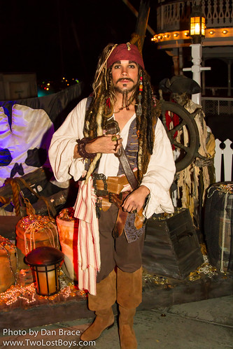 Jack Sparrow At Disney Character Central