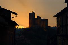 Château de Najac (elenas_1) Tags: france aveyron najac midipyrénées sudouest couchédesoleil ciel château castle architecture bâtiment couleur voyage tourisme