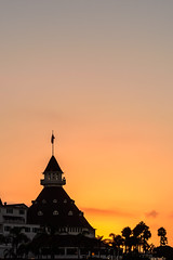 Sunrise over Hotel Del Coronado (R*Pacoma) Tags: coronado hoteldelcoronado sandiego california sunrise colorful sky nikon d7100
