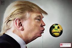 #HokeyPokey (PSMandrake. Marco Garofalo.) Tags: hokeypokey earthissad vomit laboratoriocreativo planetearth caricature trump donaldtrump