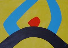 Utopia   by Jan Theuninck, 2016 (Gray Moon Gallery) Tags: utopia jantheuninck red blue black yellow fiction latin nwo dirkmartens thomasmore 1516 hythlodaeus politicalphilosophy nowhere commonwealth speakerofnonsense mleuven europe oskarschlemmer dokumentederwirklichkeit apolitical