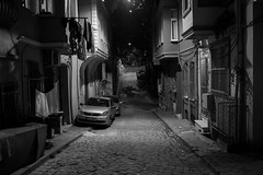 Street, Istanbul Turkey (mafate69) Tags: europe turkey turquie mditerrane istamboule istanbul rue reportage street streetshot streetlevelphoto nb noiretblanc night nuit blackandwhyte bw mafate69 documentaire documentary photojournalisme photojournalism photoreportage balat