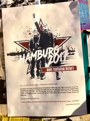 Hamburg 2017 (seven_resist) Tags: hamburg stpauli g20 summit protest demonstration antifa antcapitalist anticapitalista standing rock posters plakate linke tshirts disorder rebel store berlin kreuzberg hh hafen hamburghafen harbour city postering g8