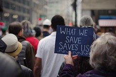 What We Save Saves Us (michael.veltman) Tags: chicago illinois protest rally standing rock sioux stop dapl dakota access pipeline water is life