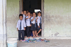 Children at school