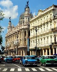 Colorismo (binladiya) Tags: taxis lahabana cuba caribe streets calles coches cars colores