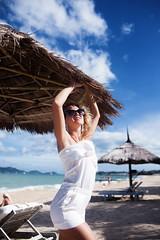 lovestory (DavydchukNikolay) Tags: lovestory nha vietnam sea ocean palms island bali maldives bora sand пляж море океан отдых купальник девушка