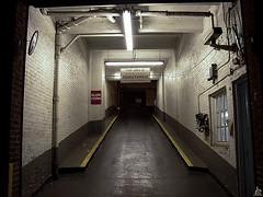 Blow horn (Jersey JJ) Tags: blow horn mystery ramp parking garage nyc manhattan j2