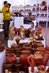Clay pieces (KyllerCG) Tags: américadosul brasil brazil campinagrande campinagrandehandcraftsshow paraíba salãodoartesanatodecampinagrande southamerica artesanato cidadesnordestinas claywork coisas craftwork handicraft objects objetos shows stuff trabalhosmanuais