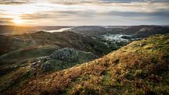sunrise (semitune) Tags: autumn sunrise dawn loughrigg fell lake district landscape backlight england uk