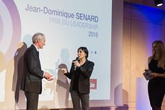 Jean-Dominique Senard, Véronique Morali et Raphaëlle Laubie