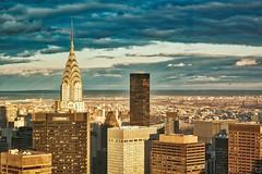 61st floor, thick glass (susanjanegolding) Tags: chryslerbuilding newyorkcity window