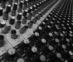 Mix (Rand Luv'n Life) Tags: odc our daily challenge audio mixer electronics repetition dials av monochrome black white row