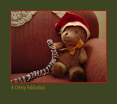 Cheezy's Christmas Adventure (Michael Paul Smith) Tags: christmas stuffed animal toy childrens story holiday