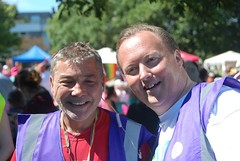 """Pride organisers Mark and Alan enjoying Plymouth Pride 2015 • <a style=""""font-size:0.8em;"""" href=""""http://www.flickr.com/photos/66700933@N06/20007909924/"""" target=""""_blank"""">View on Flickr</a>"""