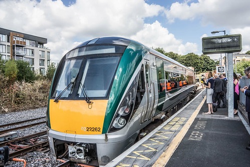 THE MINISTER PLUS PLATFORM 10 AND THE PHOENIX PARK RAILWAY TUNNEL [NOT FORGETTING IRISH RAIL STAFF] REF-107125