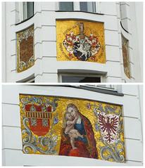 Mozaik Maria (Olga and Peter) Tags: austria oostenrijk maria mosaic innsbrck mozak fp105016365