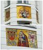 Mozaik Maria (Olga and Peter) Tags: austria oostenrijk maria mosaic innsbrück mozaïk fp105016365