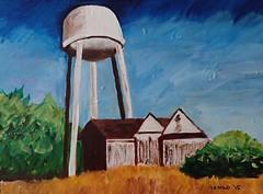 Water Tower (szmilo) Tags: watertower fairport