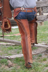 COWBOY PHOTO SHOOT (AZ CHAPS) Tags: ranch arizona leather spurs cowboy boots hats chaps saddle tack wrangler