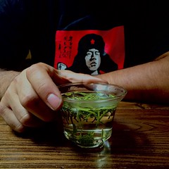 tomando te amarillo Jun Shan Yin Zhen (Tetere Barcelona) Tags: teatime teahouse chinesetea teashop tealeaf chaguan yellowtea teteriabarcelona junshanyinzhen tetereria teamarillo huangcha