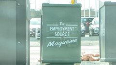 the employment source (timp37) Tags: street sign magazine stand illinois oak employment lawn may cicero source 95th 2015