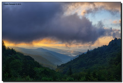 Clouds and Fog (Fraggle Red) Tags: morning trees summer mountains fog clouds sunrise dawn nationalpark northcarolina hills overlook smokies hdr smokymountains greatsmokymountains greatsmokymountainsnationalpark oconalufteeriver us441 canonef24105mmf4lisusm 7exp dphdr oconalufteevalley canoneos5dmarkiii 5d3 5diii oconalufteevalleyoverlook adobephotoshopcs6 adobelightroom5