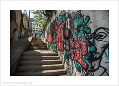 Mummy... what does this mean? (andyrousephotography) Tags: streetart colour art logo graffiti artwork spraypaint santateresa