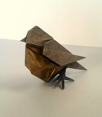 Little bird (orig4mi.) Tags: bird paper origami fold