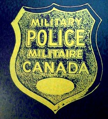 A MP badge Canada - EXTRA PRINTS are available (sandmanbrian777) Tags: militarypolice federalpolice policeinsignia