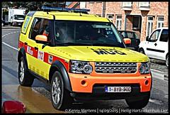 Heilig-Hartziekenhuis Lier - MUG (gendarmeke) Tags: belgium belgique belgie 4x4 4 belgi rover ambulance mug land hart discovery iv ziekenhuis lier heilig heilighart belge hpital ambulanz smur ziekenwagen heilighartziekenhuis