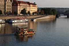 Prague 1 (gast2ga) Tags: water rio river landscape boat agua prague praga