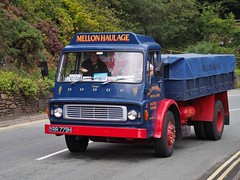 Dodge K500 - YRR 779H (Ben Matthews1992) Tags: old classic 1969 wales truck vintage wagon tipper britain transport historic lorry commercial vehicle dodge british welsh preserved mellon preservation waggon barmouth lorries haulage k500 2015 roadrun heartofwales yrr779h