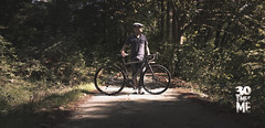 18/30 (Paolo Martinez) Tags: blur bicycle self paolo outdoor 6d 50mml brenizermethod peopleenjoyingnature