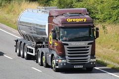 WU64BJO - Gregory (TT TRUCK PHOTOS) Tags: tt gregory tanker scania bourton a303