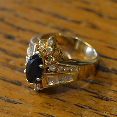 "GOLD RING w/ DIAMONDS • <a style=""font-size:0.8em;"" href=""http://www.flickr.com/photos/51721355@N02/21684855288/"" target=""_blank"">View on Flickr</a>"