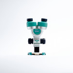 実体顕微鏡の写真