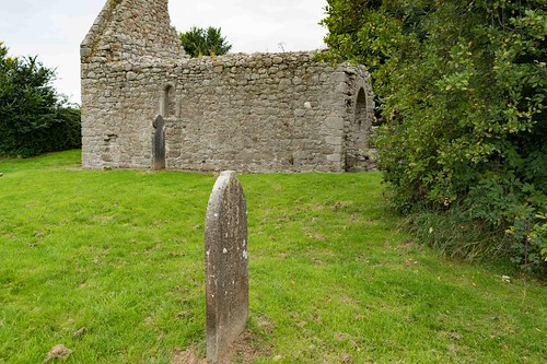 TULLY CHURCH AND THE LAUGHANSTOWN CROSSES [SEPTEMBER 2015] REF-108607