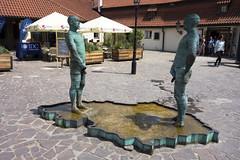 """Piss"" (wildgazelle) Tags: pee fountain statue prague praha piss urination sculptue ern davidern"