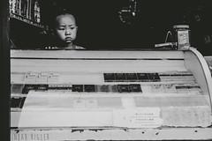 15 (Inbarigler) Tags: china boy blackandwhite white black kids children kid village child cigarette smoke smoking seller bnw tabbaco