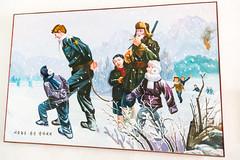 Anti-American Paintings - Hoeryong First Middle School (Tom Peddle) Tags: school education kim song north first korea korean american middle anti kp ki dprk hamgyong hoeryong