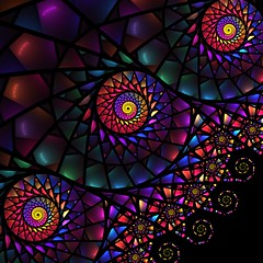 colours in the dark (sil737) Tags: light abstract color art nature colorful glow geometry flames flame galaxy fractal apophysis complexity fractals dimension magical algorithm algorithmic mathematic fraktale fractalgeometry abstractology apophysis7x flamealgorithm
