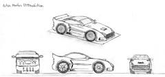 Aston Martin 177 Prediction-1 (EliteGuard01) Tags: car illustration speed pencil sketch drawing drawings halo automotive sketchbook exotic imagine astonmartin carbonfiber conceptcar sideexhaust astonmartinone77 halocar