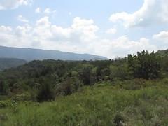 Panning Brush Mountain (debstromquist) Tags: trees mountains clouds kentucky ky parks videos pineville latesummer sunnydays brushmountain cumberlandmountains bellcounty wildernesstrailoffroadpark atvparks